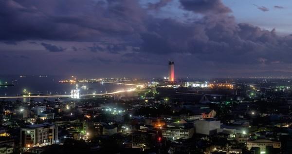 View from One Central Cebu Hotel Lobby
