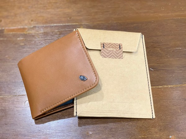 Bellroy Hide & Seek Slim Leather RFID Wallet Review