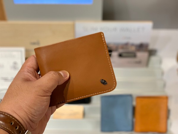 Bellroy slim leather wallet with RFID Protection
