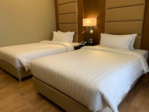 Best Western Bendix Hotel Bed