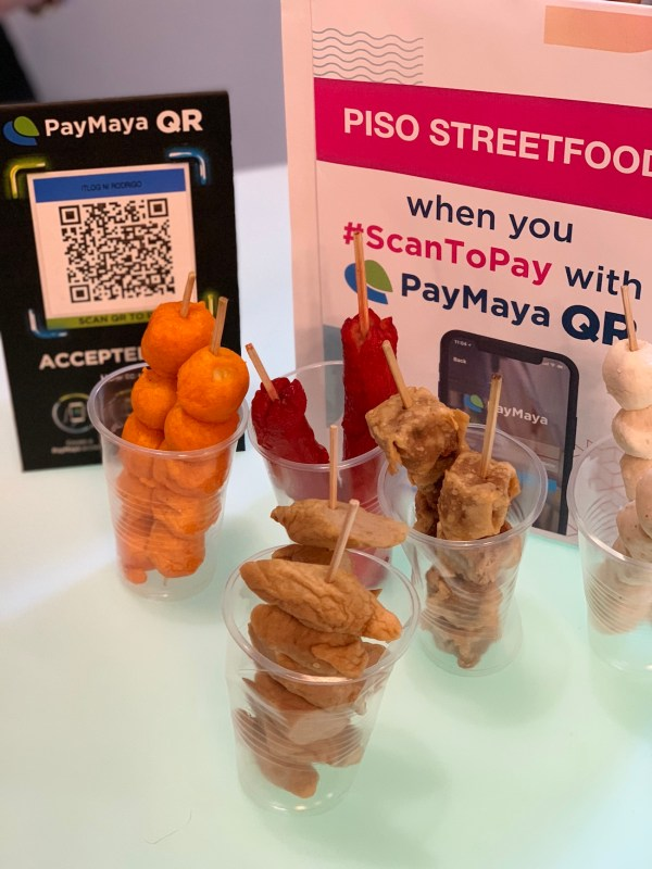 Buy streetfoods without using PayMaya QR Codes