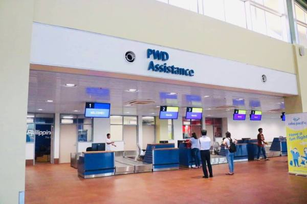 Check-in Counters at the new Paglao Airport photo via BoholTourismPH FB Page
