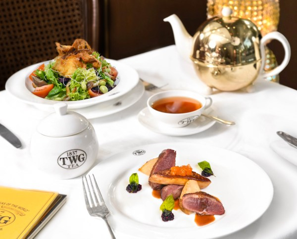 Duck and Foie Gras with Salad - TWG Tea Philippines