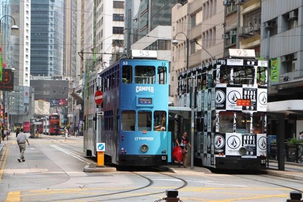 Hong Kong Ding Ding tram
