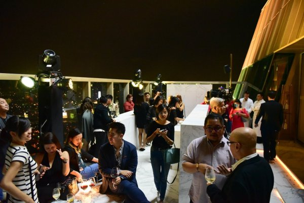 Party at the Peak Grand Hyatt Manila photo via FB Page