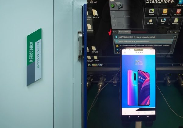 R15-based OPPO 5G smartphone terminal