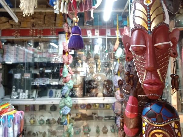Souvenir Shops inside Batu Caves