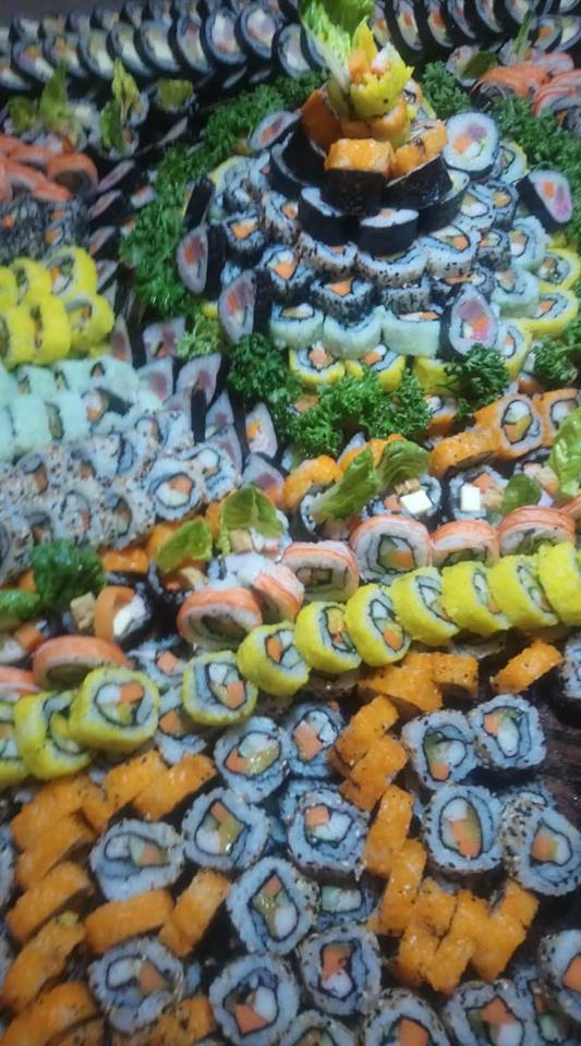 Sushi Fiesta at the Buffet during the Event