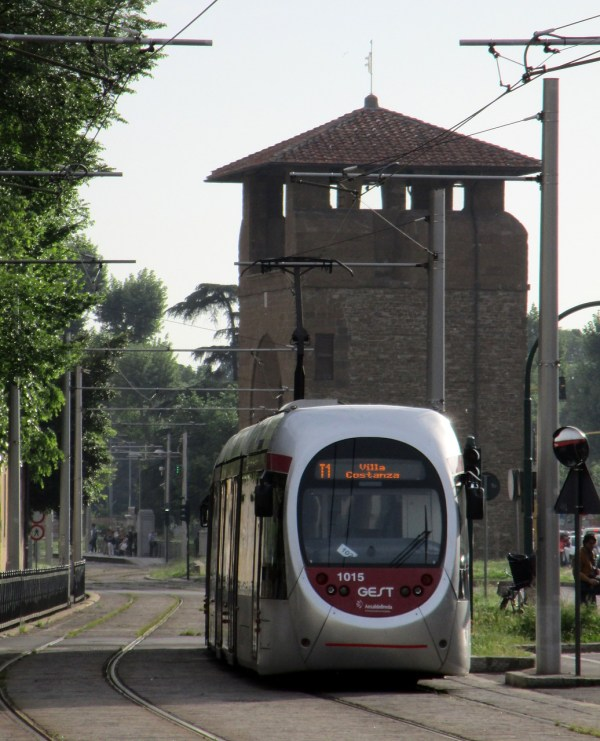 Tram in Florence Italy