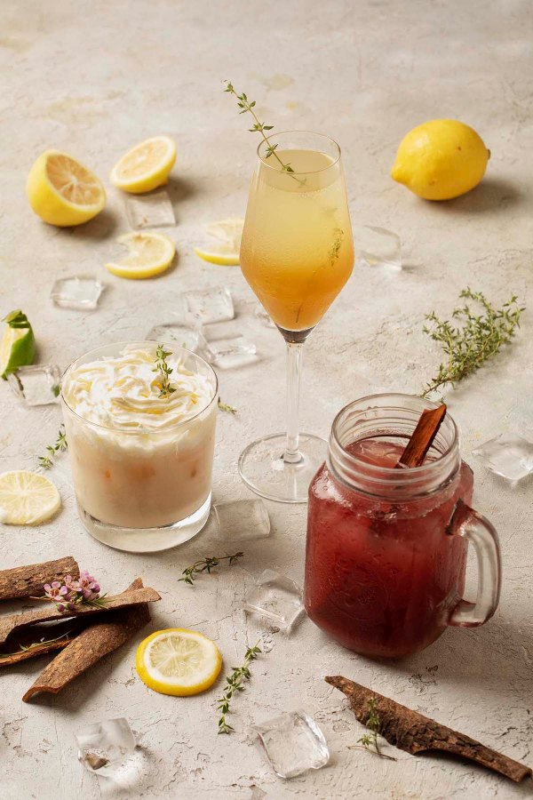Vu's Yuletide Pears, White Christmas, and Holiday Sangria