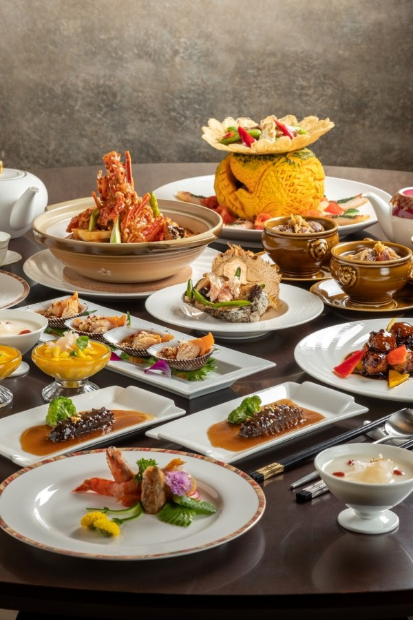 Gastronomic delights from Shanghainese fine dining restaurant, Yu Lei
