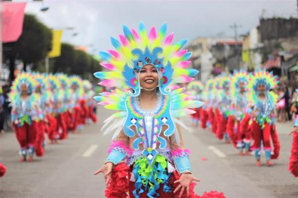 Kidapawan City Carnival Street Parade photo via Kidapawan City Tourism Office FB
