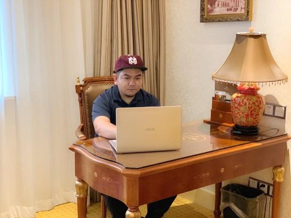 My Workspace in Shanghai