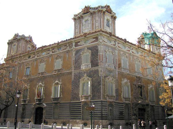 Palacio del Marques de Dos Aguas photo by Felivet via Wikipedia CC