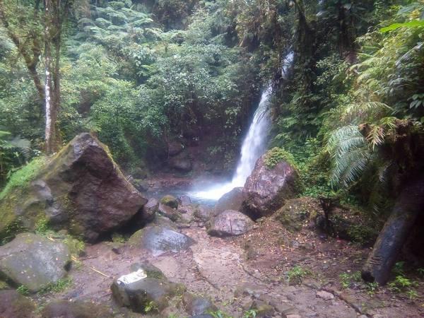 Paniki Falls photo via Kidapawan City Tourism Office FB