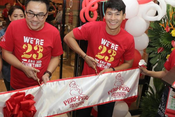 Peri-Peri McKinley Venice Grand Canal Ribbon Cutting