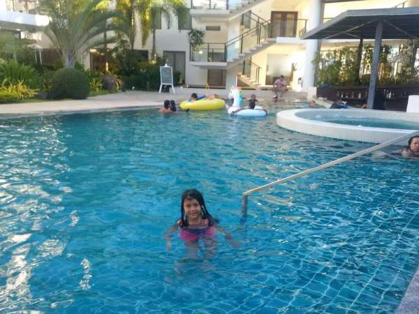 Pool time at Discovery Shores Boracay