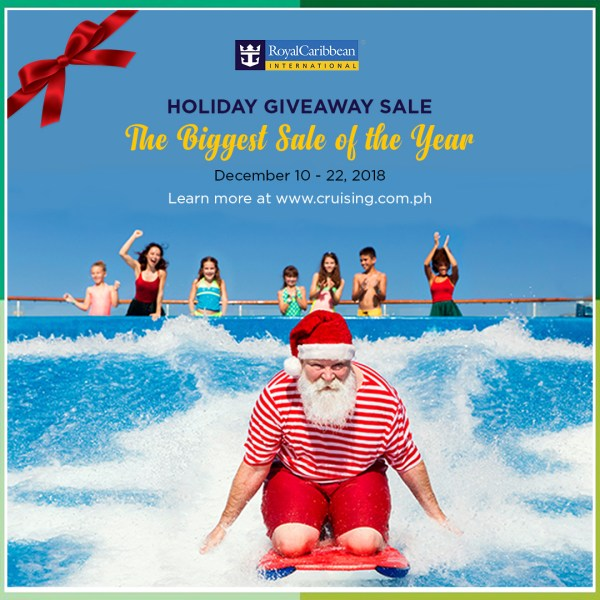 Royal Caribbean International Biggest Sale for 2018