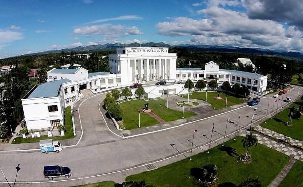 Sarangani Provincial Capitol (aerial)