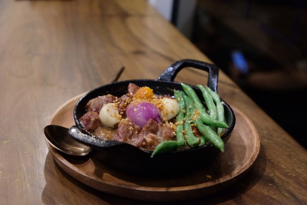 Sizzling Corned Beef Sinigang
