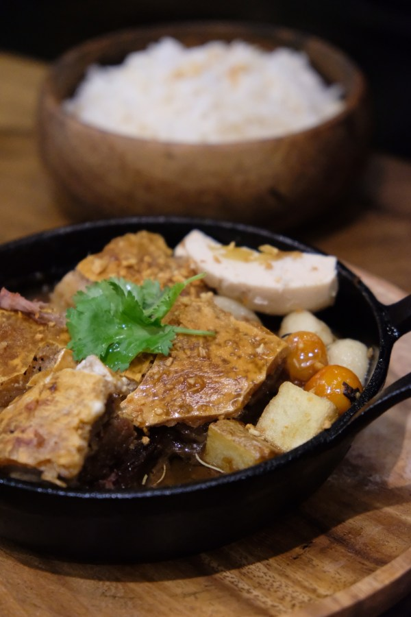 Sizzling Crispy Pork Belly Adobo