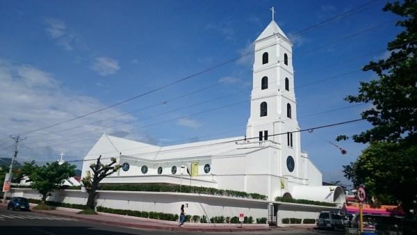 The Sto. Niño Parish Church of Tacloban photo by JinJian via Wikipedia CC