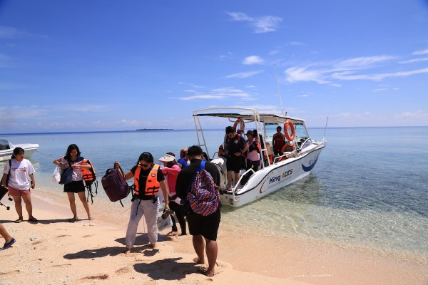 Visiting Apo Reef in Occidental Mindoro
