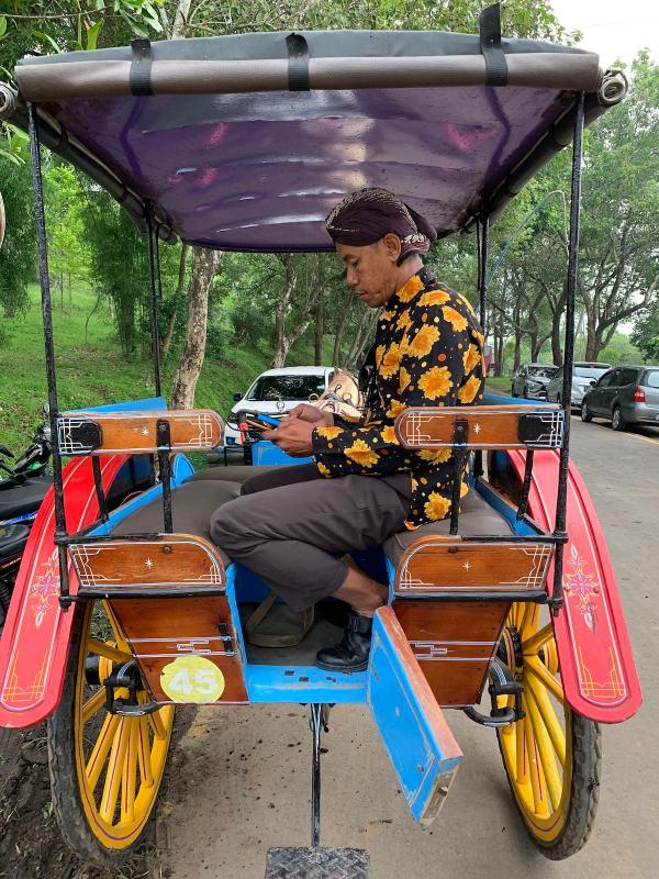 Andong in Borobudur