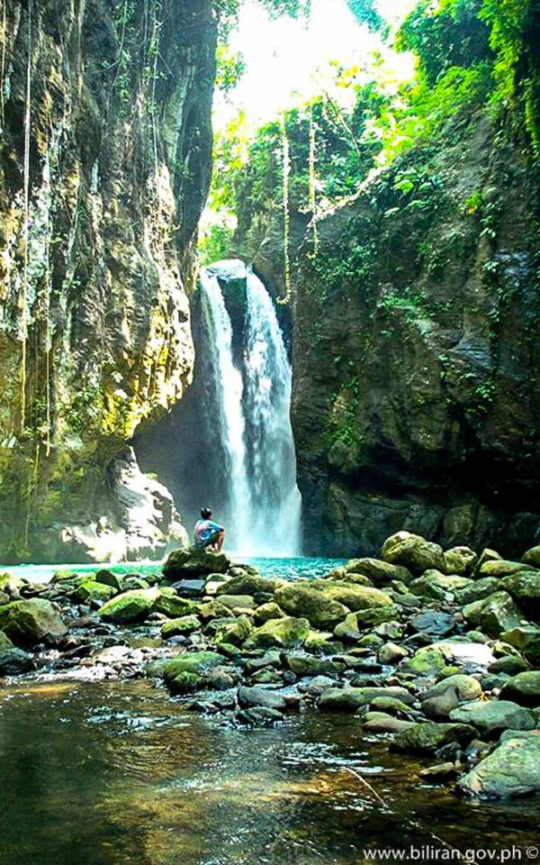 Bagongbong Falls photo via Biliran.gov.ph