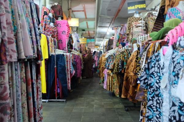 Batik Shops at Malioboro