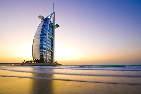 Burj Al Arab Dubai Luxury Hotel