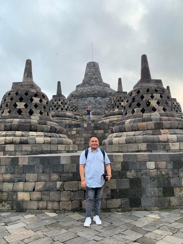 Early Morning in Borobudur