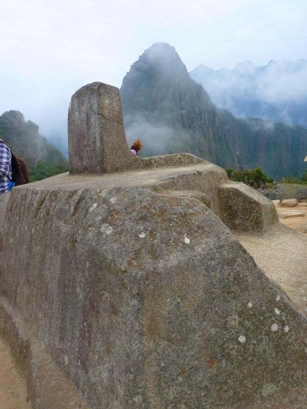 Machu Picchu Intihuatana Sundial
