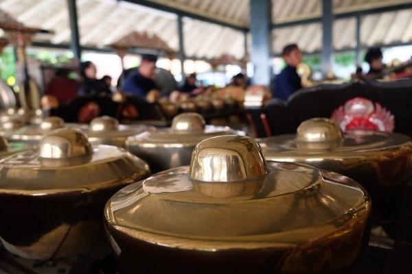 Musical Instruments inside Kraton Ngayogyakarta Hadiningrat