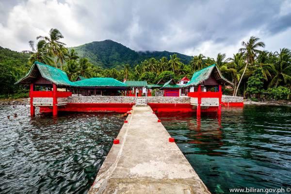 Napo Beach Resort in Maripipi photo via Biliran.gov.ph