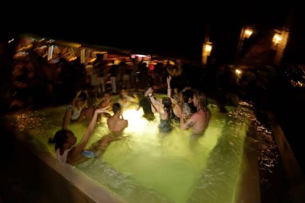 Party at Bravo Beach Resort Siargao photo via FB Page