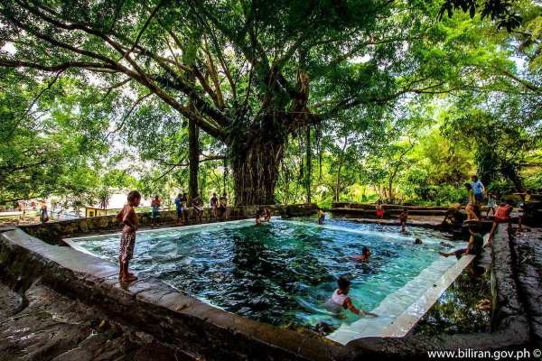 San Bernardo Spring Pool photo via Biliran.gov.ph
