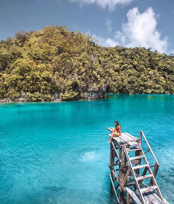 Sugba Lagoon photo by @backpackwithme
