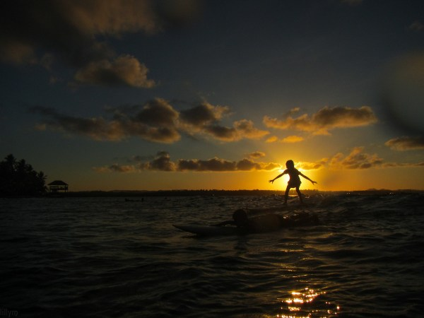 Sunset in Siargao photo by Lee via Flickr CC