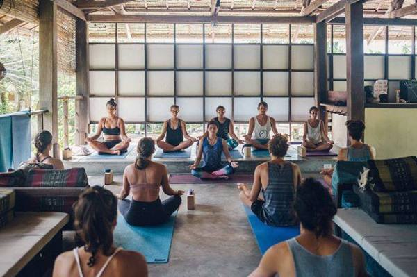 Yoga Class at Buddhas Surf Resort