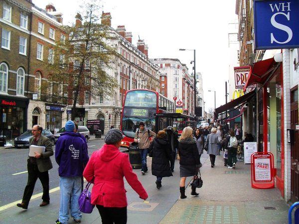 Baker Street by Dean Molyneaux via Wikipedia CC