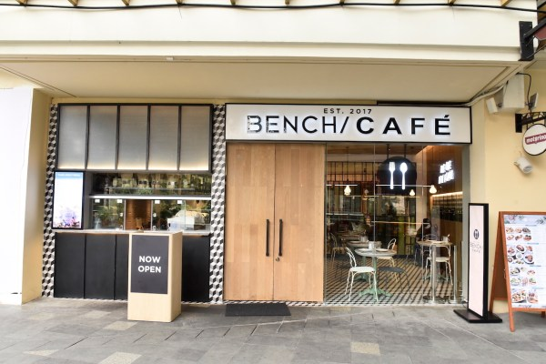 Bench Cafe Greenbelt facade