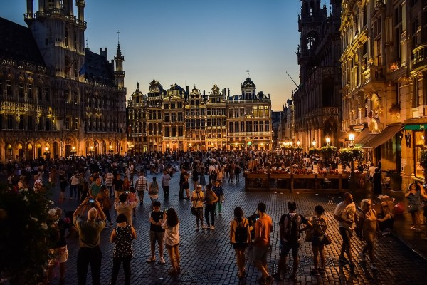 Brussels at Night