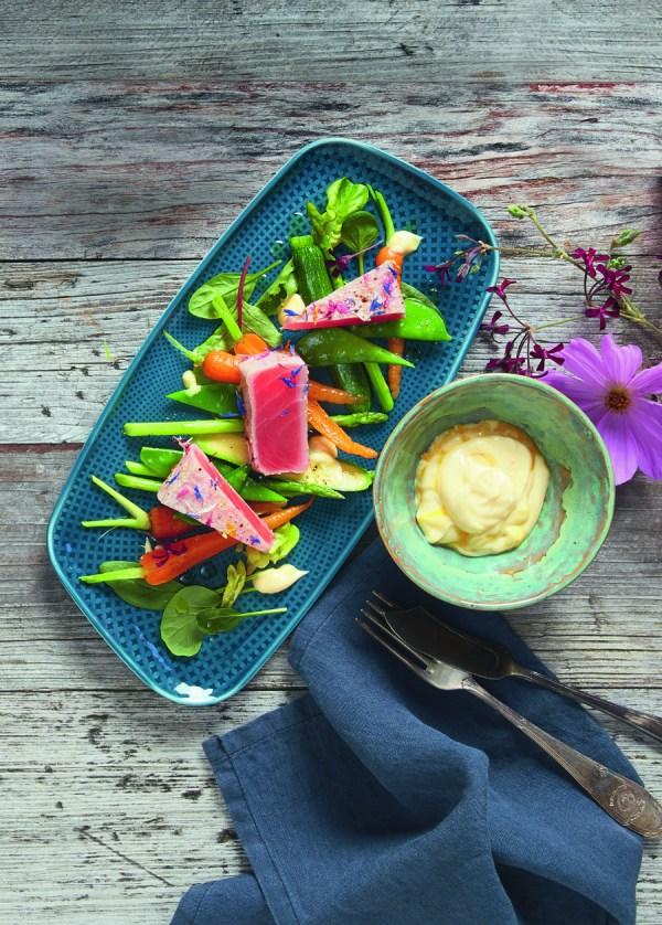 Flowered tuna