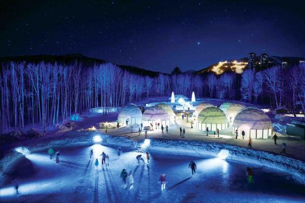 ICE Village in Hokkaido Japan