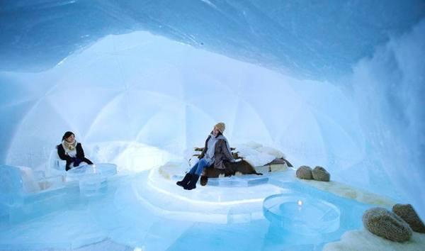 Ice Hotel in Hokkaido Japan