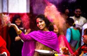 India Holi Festival Schedule