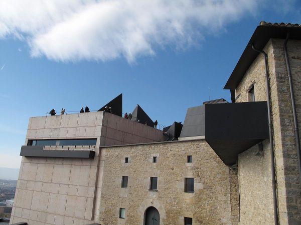 Jorge Oteiza Museum Foundation photo by Kamahele via Wikipedia CC