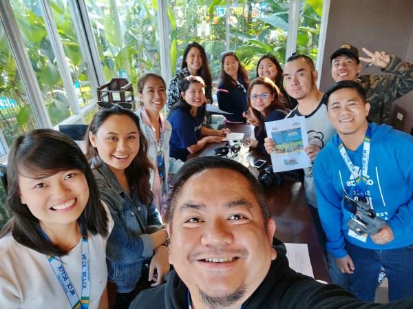 Lakbay Norte 2019 Participants at Cafe Amazon