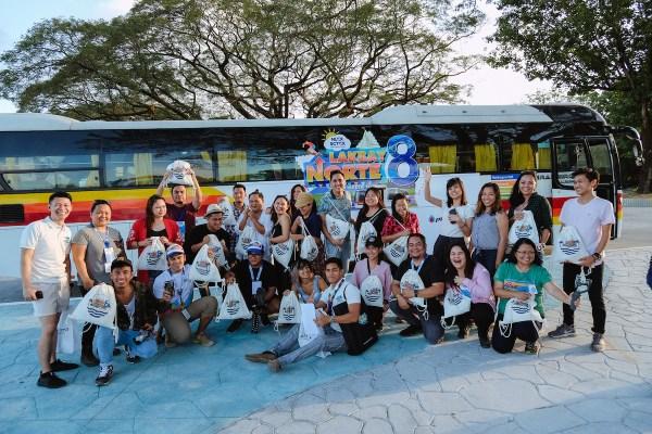 Lakbay Norte 8 Team at Aqua Planet photo by Mac Dillera